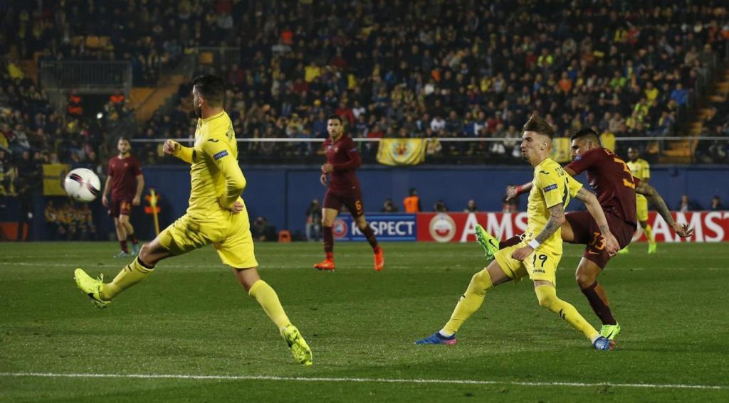 Diretta Roma Villarreal (LaPresse)