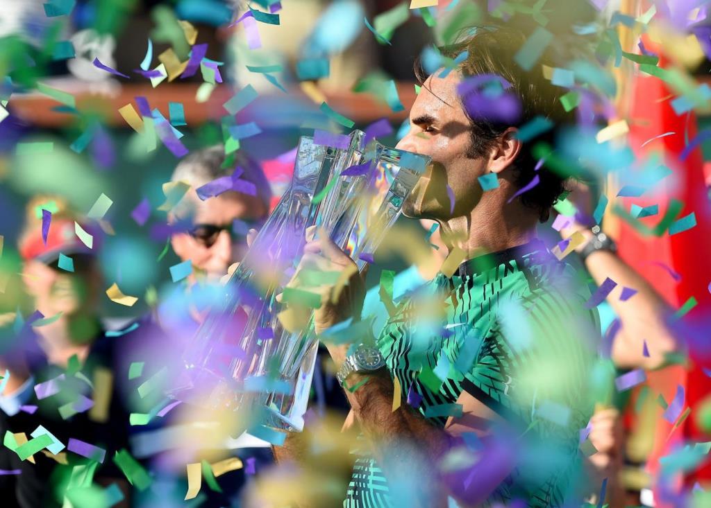 Per Roger Federer titolo numero 90 in carriera (Foto LaPresse)