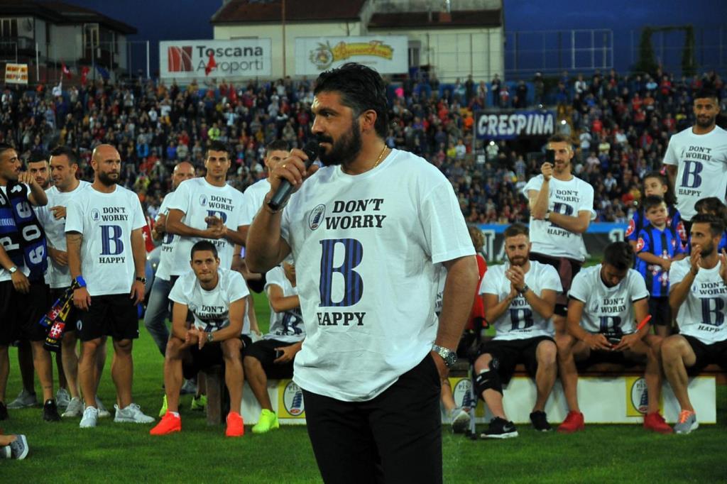 L'allenatore del Pisa, Gennaro Gattuso (Lapresse)