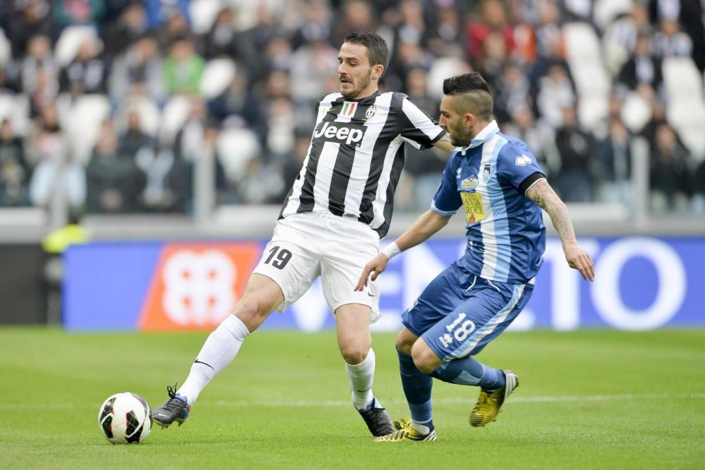 Il difensore della Juventus, Leonardo Bonucci (Lapresse)