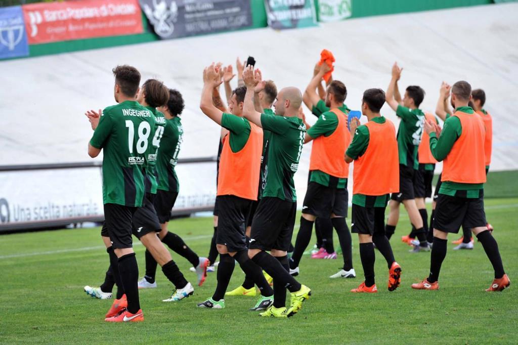 Il Pordenone, una delle squadre in testa al girone B (Foto LaPresse)