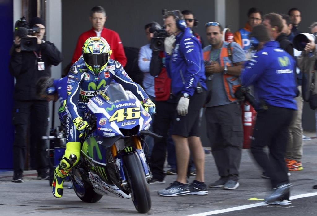 Valentino Rossi, 38 anni (Foto LaPresse)