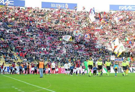 Lo stadio Dall'Ara di Bologna (Lapresse)