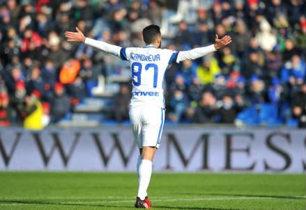 Antonio Candreva, 30 anni, centrocampista dell'Inter (LAPRESSE)