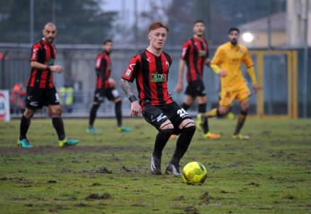 Per l'attaccante della Lucchese Gianmarco De Feo, 22 anni, 22 presenze e 5 gol in campionato (LAPRESSE)