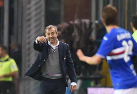Il tecnico della Sampdoria, Marco Giampaolo (Lapresse)