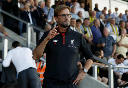 Jurgen Klopp, tecnico del Liverpool (LaPresse)