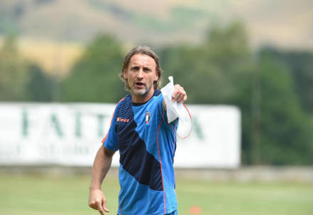 Davide Nicola, tecnico del Crotone (Foto LaPresse)