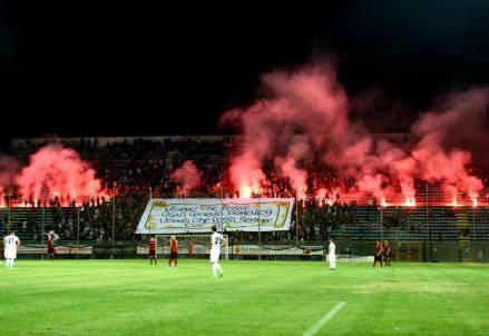 Lo stadio Granillo di Reggio Calabria (Lapresse)