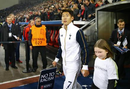 L'attaccante sudcoreano Son Heung-Min, 24 anni, era l'ex di giornata avendo giocato con il Leverkusen dal 2013 al 2015 (LAPRESSE)
