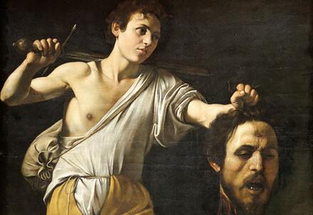 Davide con la testa di Golia di Caravaggio
