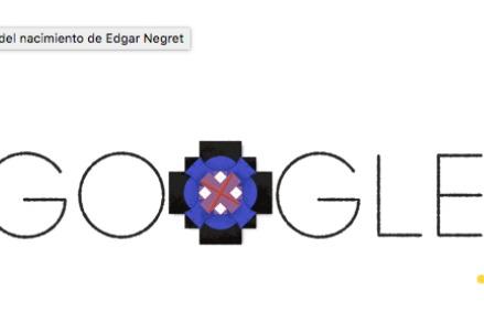 Edgar Negret, doodle Google Colombia