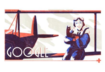 Jean Batten (Doodle di Google)