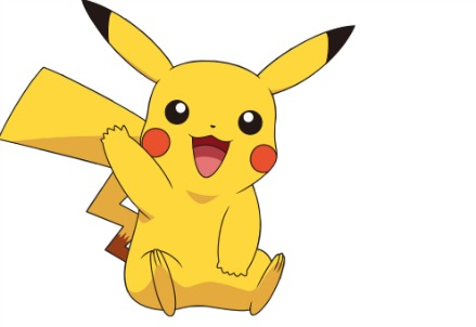 Pikachu, Pokemon (Wikipedia)