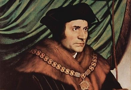 Tommaso Moro ritratto da Hans Holbein il giovane