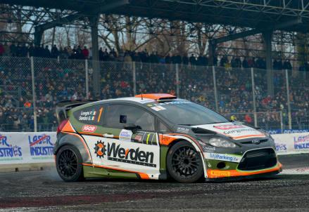 L'auto Werden al MonzaRallyShow 2015
