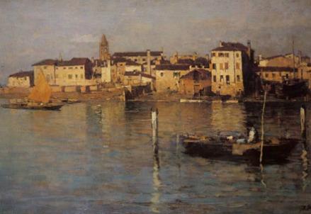 Bartolomeo Bezzi, Venezia scomparsa (1887)