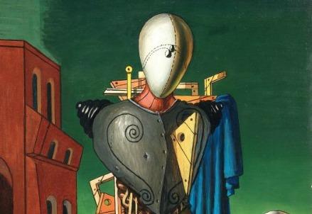 Giorgio De Chirico, Trovatore (particolare) (1968)