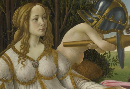 Sandro Botticelli, Venere e Marte (particolare) (1482-83)