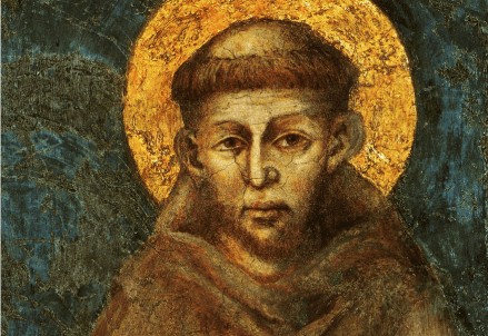 Cimabue, san Francesco (Assisi, basilica inferiore)