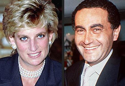 Lady Diana e Dodi Al-Fayed