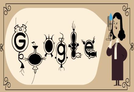 Doodle su Antoni van Leeuwenhoek