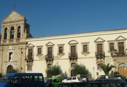 Il convento degli Agostiniani a Gela (Foto dal web)