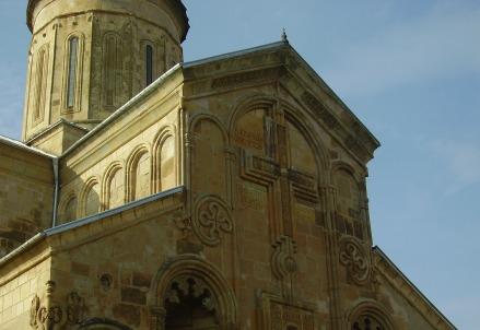 La cattedrale di Samtavisi in Georgia (Foto dal web)