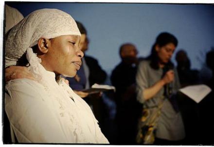 Chinyery, vedova del nigeriano ucciso