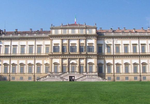 La Villa Reale di Monza (Foto MarkusMark, da Wikipedia)