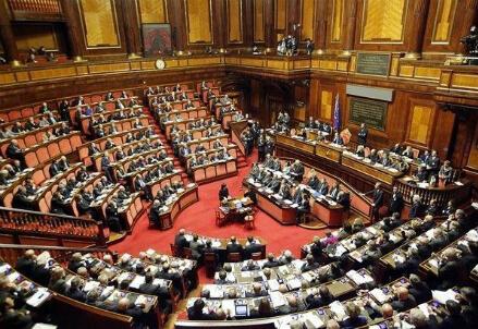 Parlamento, Italia (immagine di archivio)