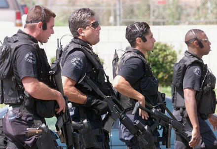 Poliziotti americani, immagine dal web
