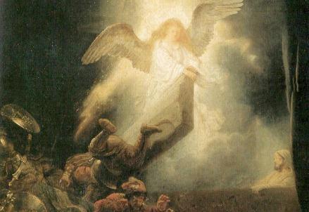 Rembrandt, Resurrezione di Cristo (1635-39)