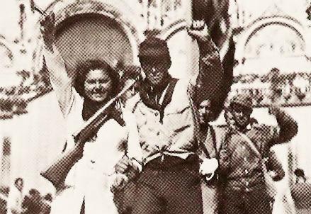 Partigiani a Venezia nel 1945 (Foto Wikipedia)