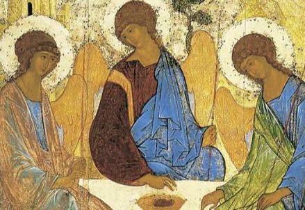 Andrej Rublëv, Trinità (1422)
