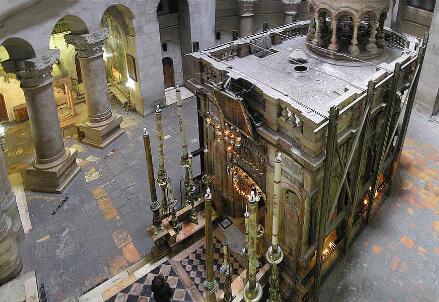 L'edicola del Santo Sepolcro