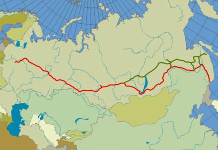 Oggi il Google celebra il completamento della ferrovia transiberiana