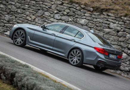 La nuova BMW Serie 5 berlina