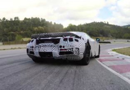 Le prove della nuova McLaren Super Series
