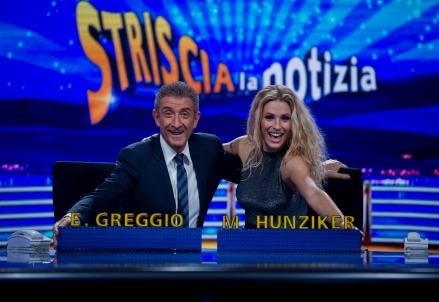 Ezio Greggio e Michelle Hunziker
