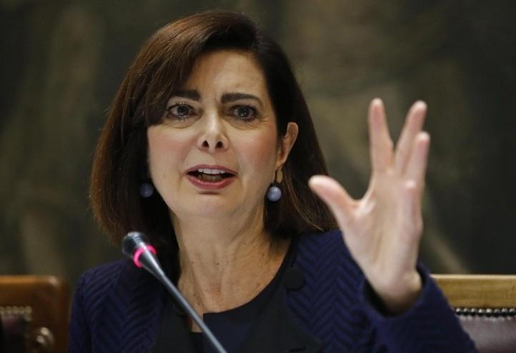 Laura Boldrini (LaPresse)