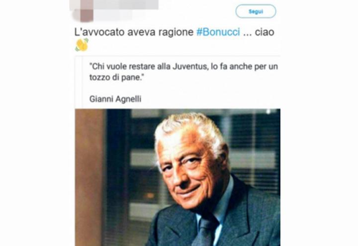 Tifosi della Juventus contro Bonucci 02