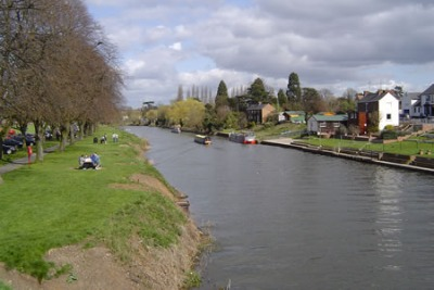 Il fiume Avon a Evesham