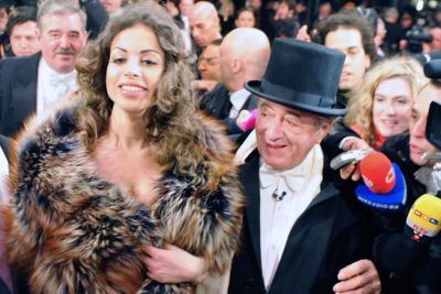 Ruby al ballo dell'Opera di Vienna - Foto Ansa