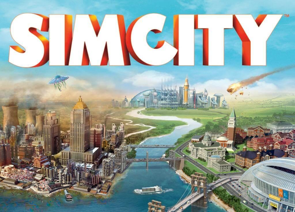 La cover di SimCity