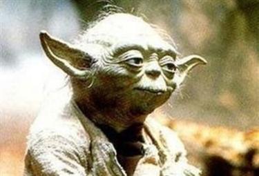 La tv di Yoda